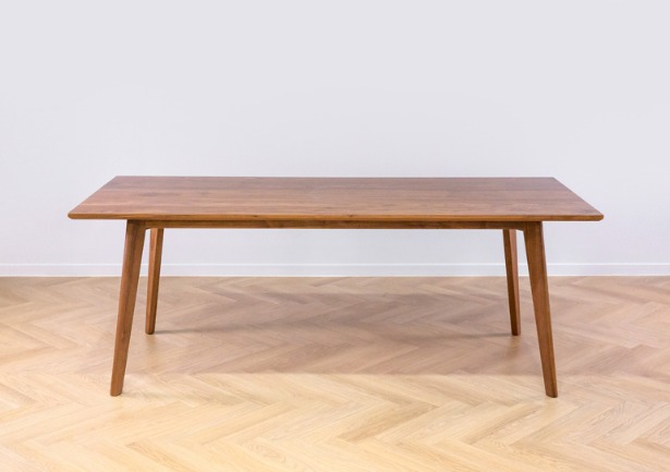 real walnut table