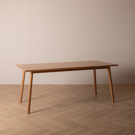 real oak table