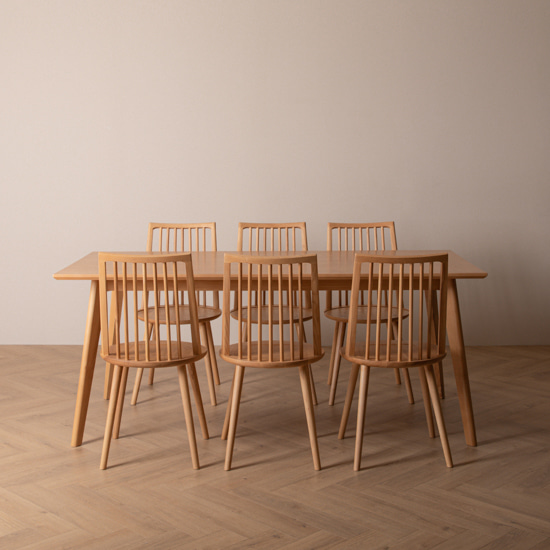real ash table set